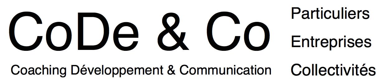 CoDe & Co - Coaching, Développement & Communication - Intervention auprès des particuliers, des professionnels et des collectivités